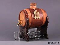 Набор для водки Бочка и 6 стопок 601-011