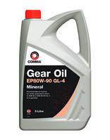 Comma GEAR OIL EP80W-90 GL4  - масло трансмиссионное минеральное - 5 литров
