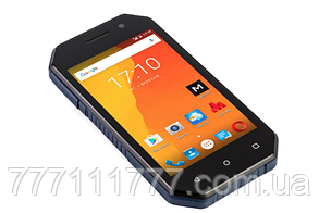 "Защищенный смартфон Nomi i4070 Iron-M Black-Blue черно-синий IP67 (2SIM) 4"" 1/16 GB 0,3/5 Мп 3G Гарантия!"