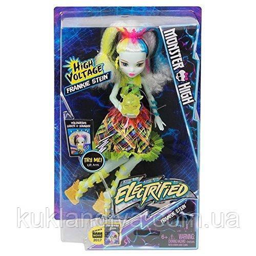 Кукла Monster High Френки Штейн электризованные
