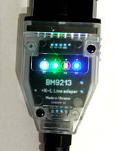 BM9213 OBD2 Якісний універсальний USB-K-L Line адаптер на FT232BL & L9637D ( ВМ9213)