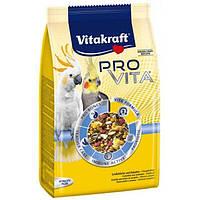 Vitakraft Pro Vita Корм с пробиотиком для средних попугаев 750 гр (33741)
