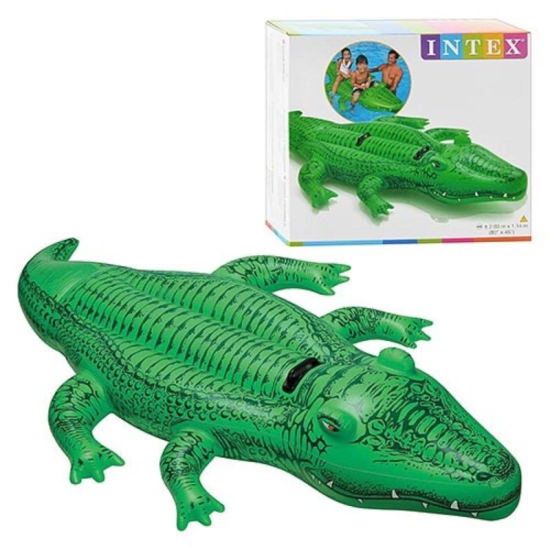 """Надувной """"Крокодил """" 58562"""