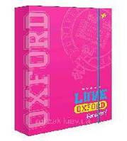 "Папка для зошитів YES 491291 В5 картон. ""Оксфорд"" рожева"
