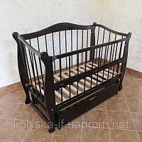Дитяче ліжко-диван з відкидною боковинкою (БУК)