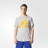 Мужская спортивная футболка Adidas ID Big Logo Tee BS2202