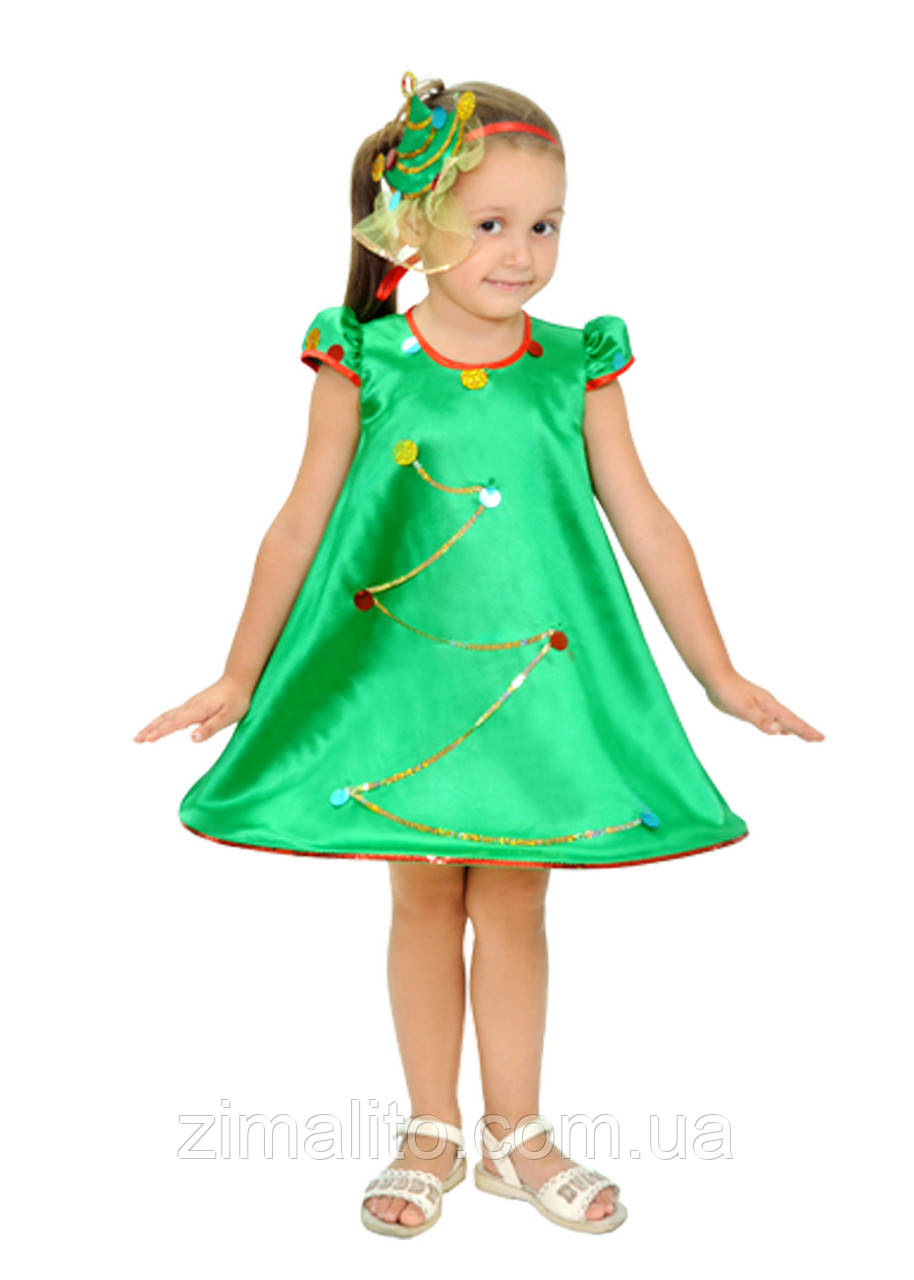 Елочка карнавальный костюм детский