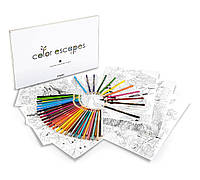 Набор для творчества Crayola - 12страниц, 50цв. карандашей, 12 акварельных красок