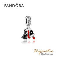 Pandora шарм-подвеска ГЛАМУРНОЕ ТРИО №792156ENMX серебро 925 Пандора оригинал