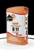 """Клей усиленный для керамогранита """"D11 Евростандарт"""" Dommix, опт"""