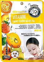 Тканевая маска с витаминами, Япония