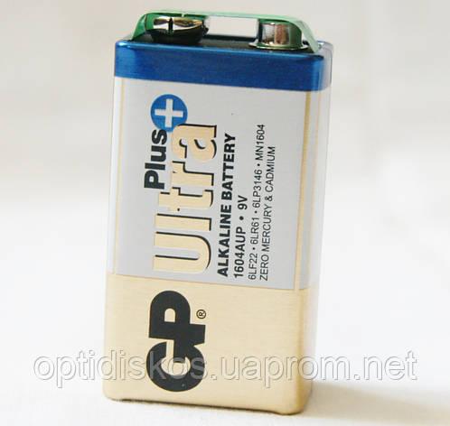 Батарейка GP Alkaline Plus Ultra 6LF22 крона, фото 2