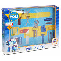Игровой набор инструментов на пояс Robocar Poli Silverlit