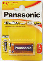 Батарейка крона Panasonic 6LF22/1BL Alkaline Power Bronze