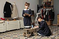 Школьное платье для девочек Martusya из 100 % натуральнойитальянскойшерсти с сумочкой индивидуально на заказ
