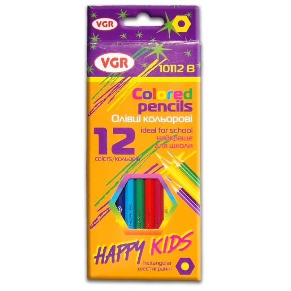 Карандаши цветные VGR (Италия)