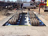 Бесфундаментные автомобильные весы 20 метров 80 тонн