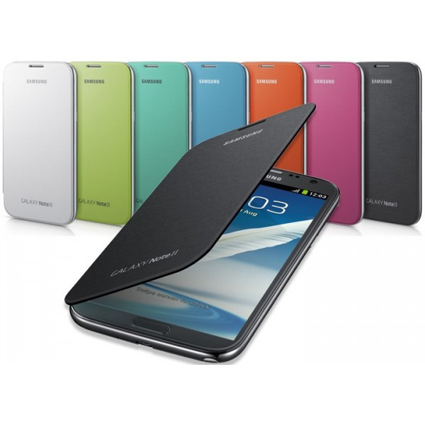 Dilux - Чехол - книжка Samsung Galaxy Note II 2 N7100 Flip Cover черный