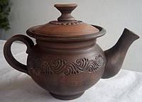 Чайник глиняная посуда