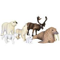 Обучающий игровой набор с QR-картой Животные Арктики Wenno (WAC1701)