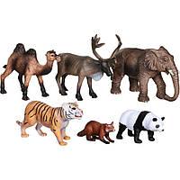 Обучающий игровой набор с QR-картой Животные Азии (WAS1701)