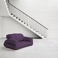 """Диван кровать""""hippo"""" фиолетовый, бескаркасный диван, диван раскладной,маленький диван,диван трансформер."""