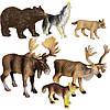 Обучающий игровой набор с QR-картой Животные Европы (WEU1704)