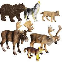 Обучающий игровой набор с QR-картой Животные Европы (WEU1704), фото 1