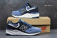 Кроссовки New Balance 999 синие 2627
