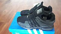 Мужские беговые кроссовки Adidas Equipment EQT SUPPORT черные