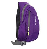 Рюкзак на одно плечо. Фиолетовый