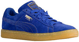 Кроссовки/Кеды (Оригинал) PUMA Suede Classic Surf The Web/Metallic Gold