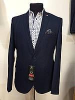 Мужской приталенный пиджак (батал)