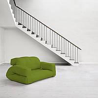 """Диван кровать""""hippo"""" салатовый, бескаркасный диван, диван раскладной,маленький диван,диван трансформер."""