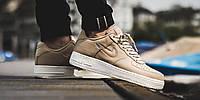 """Оригинальные кроссовки Nike Air Force 1 Low Retro Premium """"Mushroom"""" (941912-200)"""