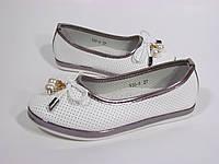 Легкие и стильные туфельки для девочки 27 - 32 размеры