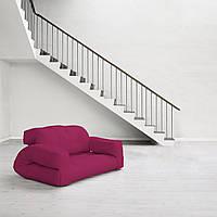 """Диван кровать""""hippo"""" розовый, бескаркасный диван, диван раскладной,маленький диван,диван трансформер."""