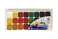 """Акварельные краски """"Луч"""" Классика 24 цвета"""