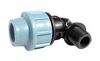 Отвод компрессионный с наружной резьбой(НР)