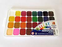 """Акварельные краски """"Луч"""" Классика 32 цвета"""