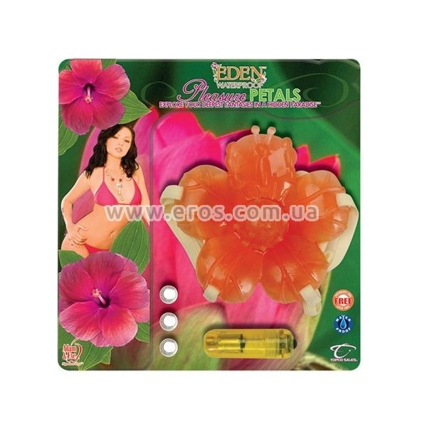 Вибромассажер Eden Pleasure Petals