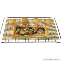 Сетка-решетка тефлоновая для гриля и духовки 50х40см