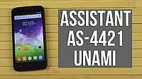 Бронированная защитная плёнка для Assistant Unami AS-4421