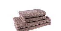 Банные полотенца (50х90см) махровые, c бордюром