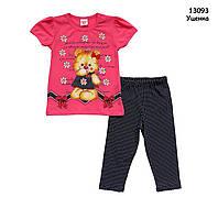 "Летний костюм ""Медвежонок"" для девочки. 2 года, фото 1"