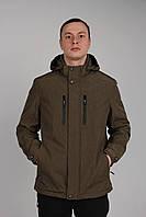 Мужская ветровка(тонкий синтепон) оптом Flansden демисезонная куртка