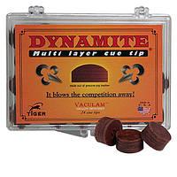 Наклейка для кия Tiger Dynamite 14мм Hard 1шт.