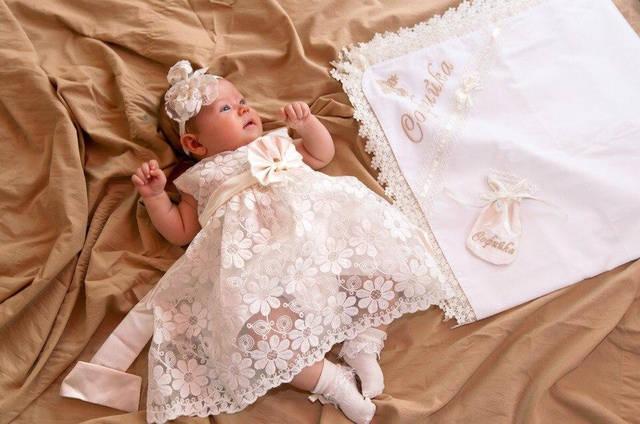 Крестильное платье -1