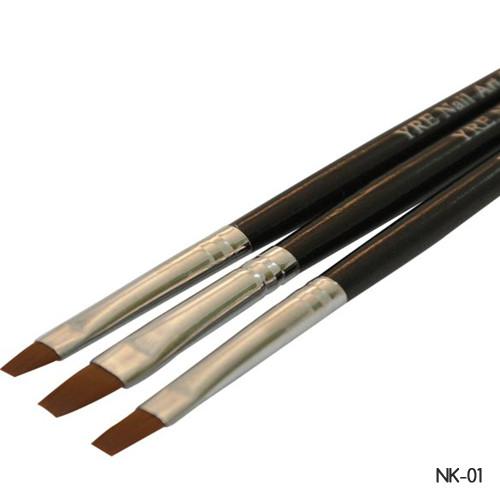 Набор кистей для геля YRE (NK-01) 3шт