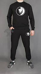 Мужской спортивный костюм Staff черный (люкс копия)